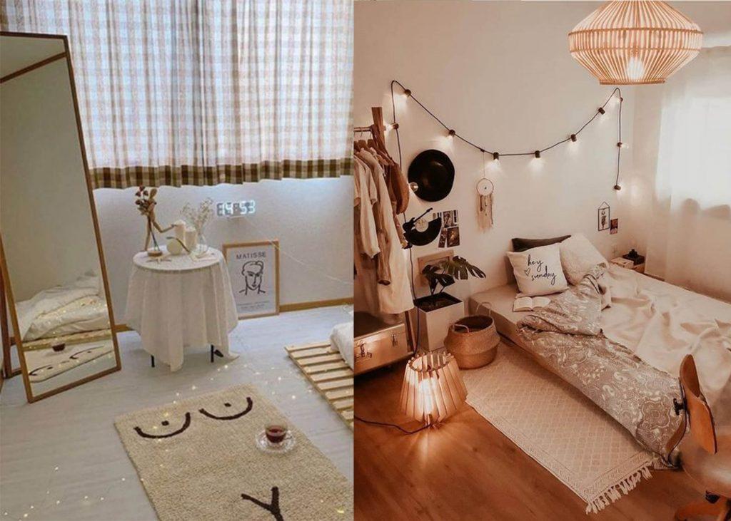dekorasi kamar kost sederhana nyaman