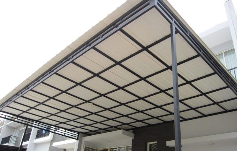 Gambar Konstruksi Kanopi Baja Ringan  macam macam profil baja ringan untuk atap dan kanopi