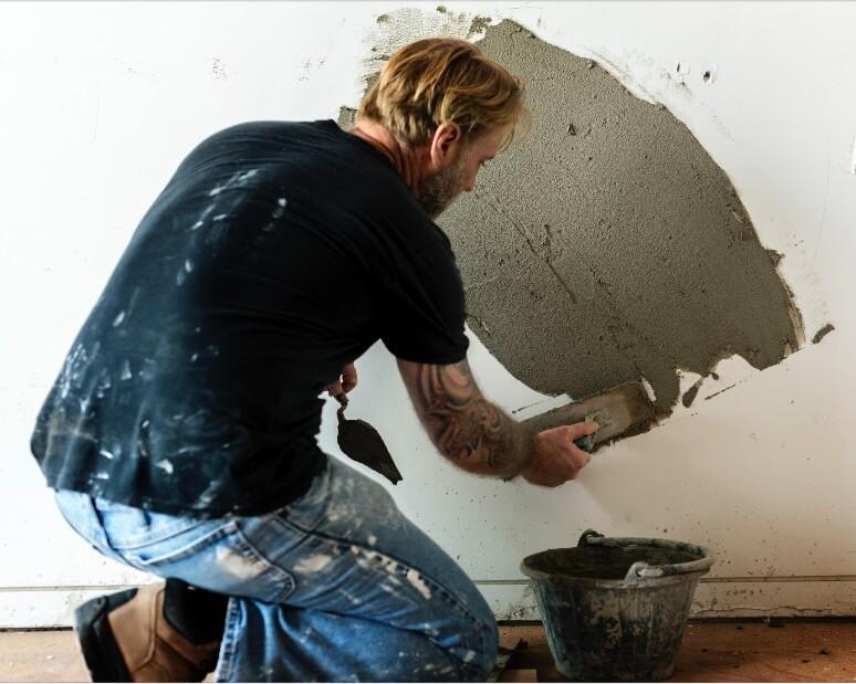 menghitung semen untuk dinding