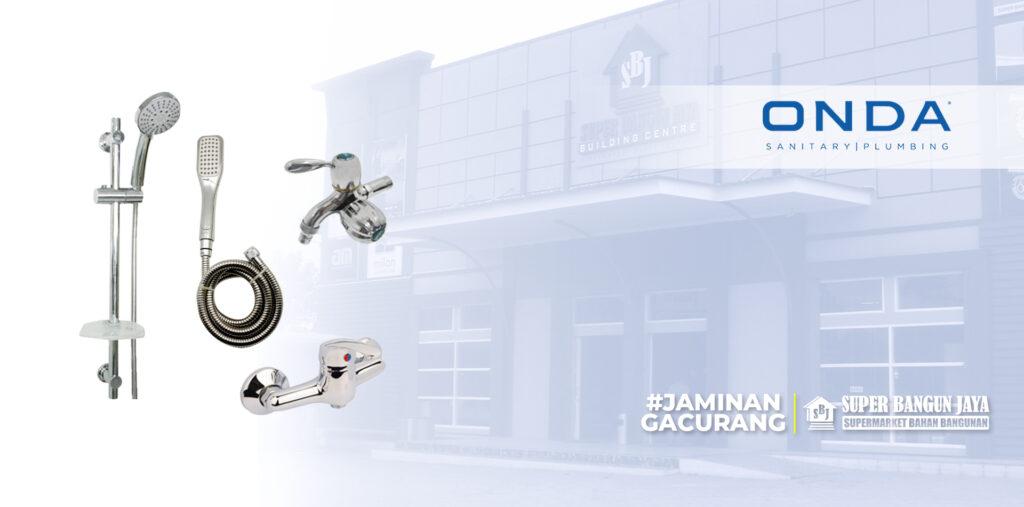 Shower Onda untuk kamar mandi yang sempit - bestseller.superbangunjaya.com